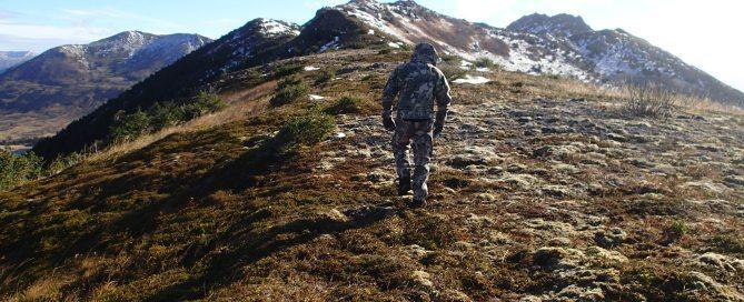 Walking Cold Ridges, Raspberry Island